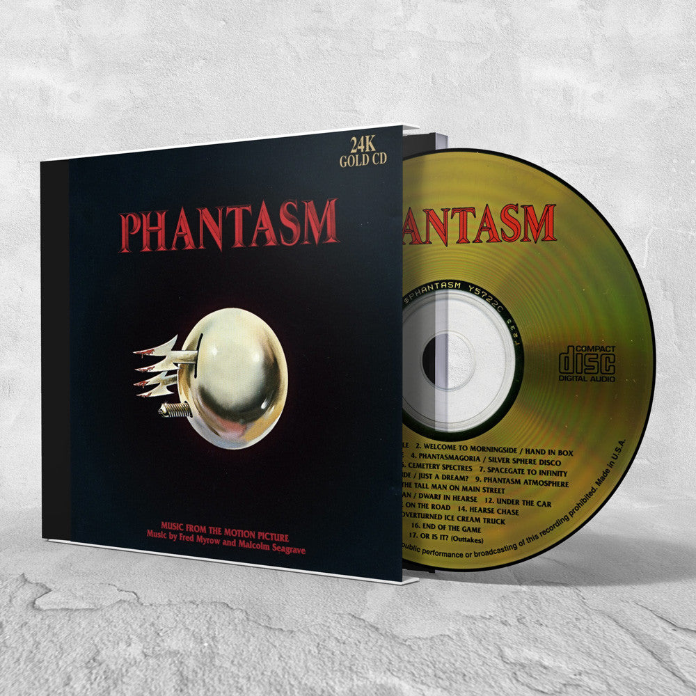 Phantasm 24K Gold Soundtrack CD