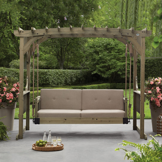 Hanging Lounger - Arched Roof #main #features