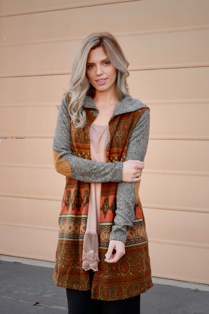 Arabian Nights Duster Cardigan