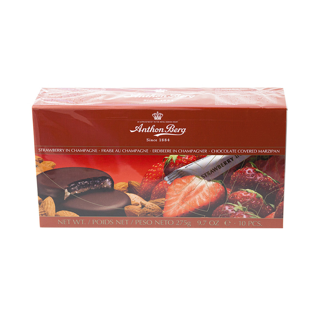 Anthon Berg - Strawberry in Champagne - Gourmet Boutique