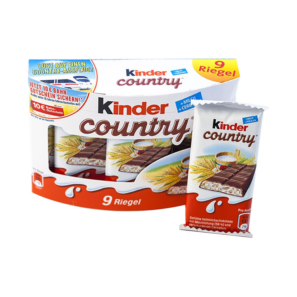 Kinder Country Box (211g) - Gourmet Boutique