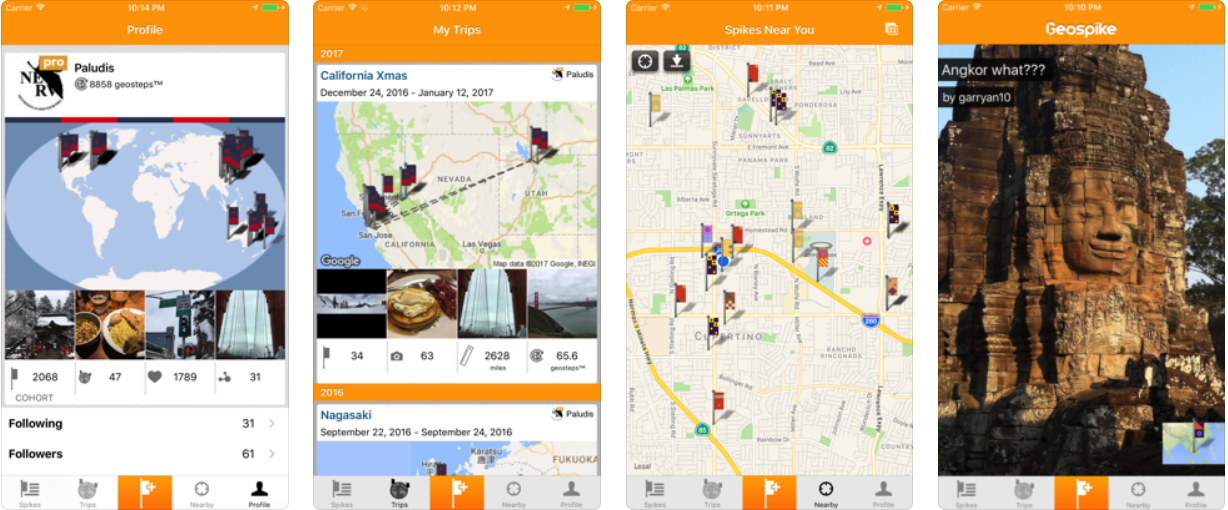 Top 13 Android and iOS Apps for Trip Loggings – Keepgo Map A Trip App on map wedding, map travel, map project,