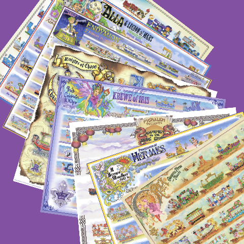 2017 Carnival Bulletin Set on Newsprint