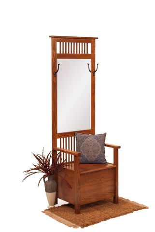 The Alamo Mission Two Hook Hallway Hat Rack, ,  - Endicott Home Furnishings