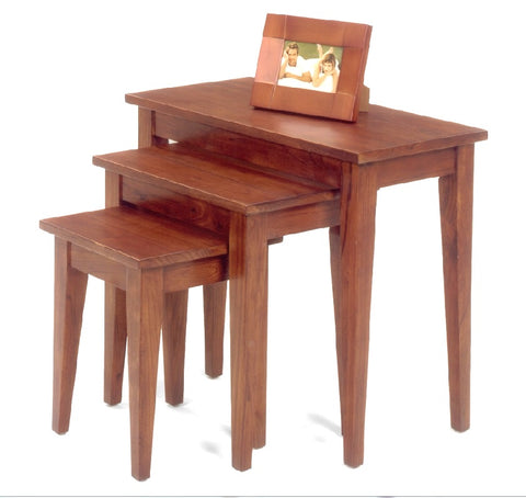 Belgrade Nesting Tables - Cherry Finish - Showroom Models