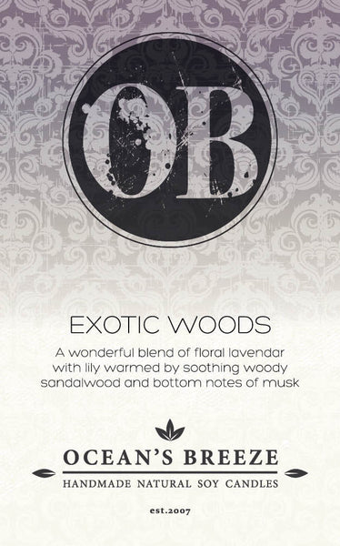 Exotic Woods Diffuser Oil
