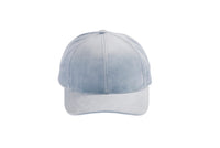 Microsuede Ballcap in Powder Blue