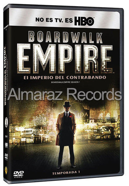 Boardwalk Empire Temporada 1 DVD - Almaraz Records | Tienda de Discos y Películas