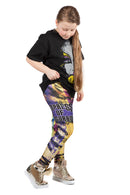 "KIDS WWE Asuka ""The Empress of Tomorrow"" Leggings"