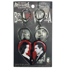 Bela Loves Vampira Broken Heart Keychain Set