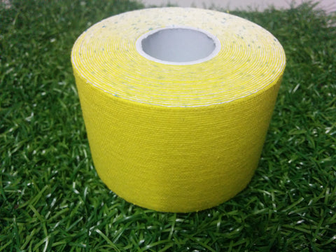 Canary Yellow - 50mm x 5m - Premium Kinesiology Tape - One Box of 24 Rolls