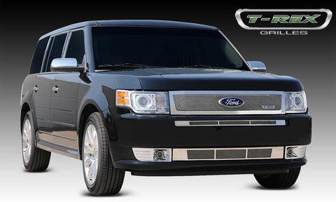 Flex Grille 09-12 Ford Flex Stainless Polished Upper Class Series T-REX Grilles