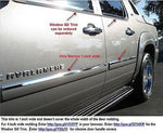 07-14 Chevy Avalanche, Tahoe,  Yukon. Mirror-Finish stainless  door accent bezel - Auto-Truck-Accessories  - 2
