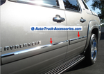 07-14 Chevy Avalanche, Tahoe,  Yukon. Mirror-Finish stainless  door accent bezel - Auto-Truck-Accessories  - 4