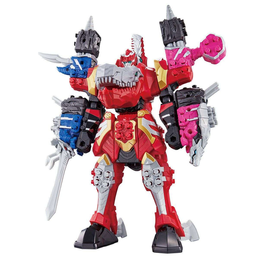CSTOYS INTERNATIONAL:[Mar. 2019] Ryusoulger: Kishiryu Series 01, 02, 03 DX Kishiryu-Oh Three Knights Set