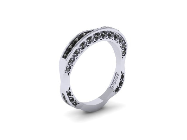 Contour Wedding Band-UDINC0323WB