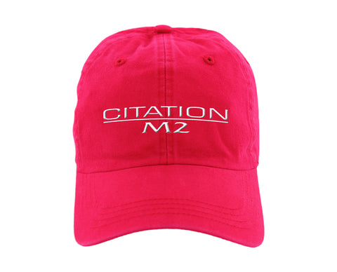 Citation M2 Ahead classic cut vintage twill cap