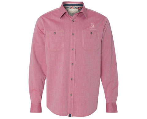 Cessna Mens Weatherproof Chambray Woven