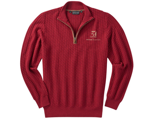 Cessna Mens Bobby Jones Holden 1/4 Zip Pullover