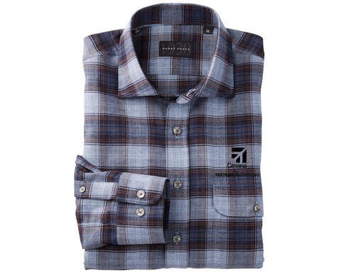 Cessna Mens Bobby Jones Dawson Plaid Shirt