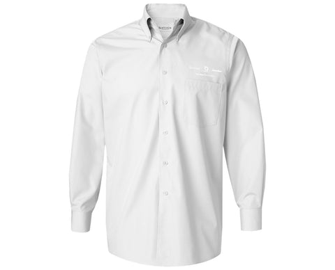 Textron Aviation Mens Silky Poplin Woven