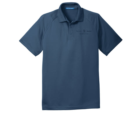 Textron Aviation Mens Crossover Raglan Polo