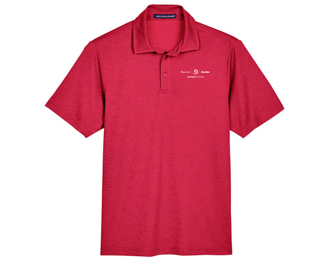 Textron Aviation Mens Melange Polo