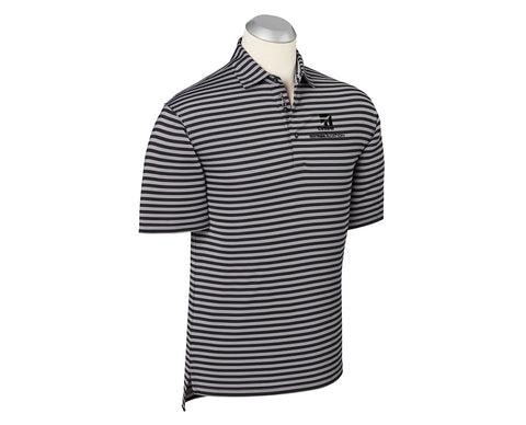 Cessna Mens Bobby Jones Feed Stripe Polo