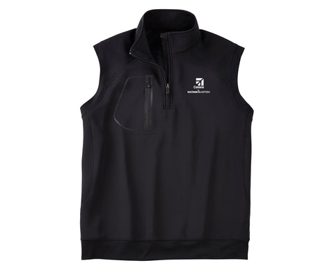 Cessna Mens Bobby Jones Crawford 1/4 Zip Vest