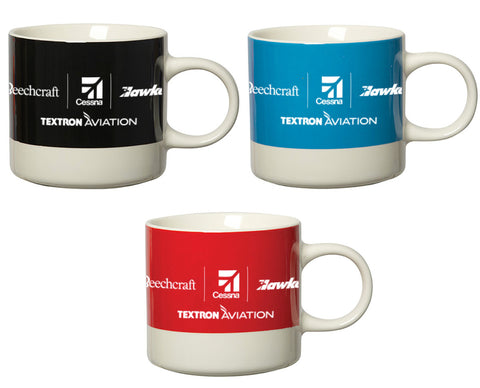 Textron Aviation Ceramic Mug - Red