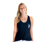 Peace sign pocket tank