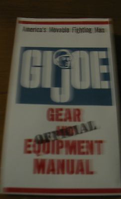 P045 3SB Reproduction GI JOE Military Equipment Manual Sheet New!