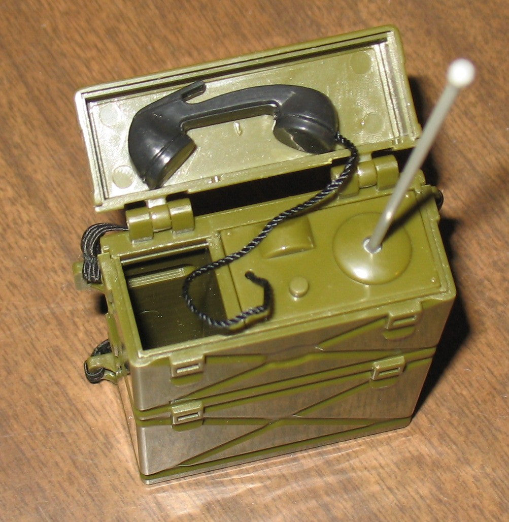 A028 Hasbro Reissued Green Field Radio Brand New!
