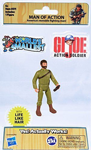 G057 Hasbro Worlds Smallest GI JOE Man of Action