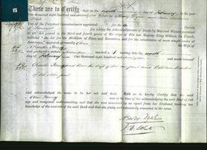 Deed by Married Women - Ann Penney-Original Ancestry