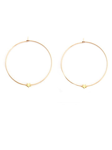 Twinkle Hoop Earrings