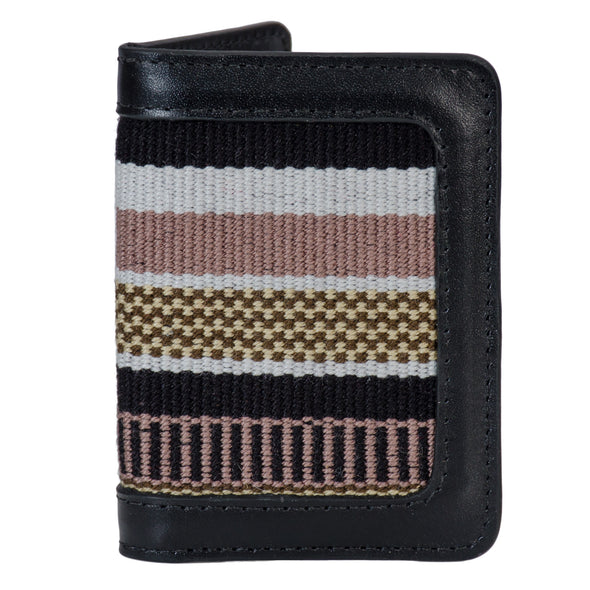 Wayuu Wallet - Black/Brown