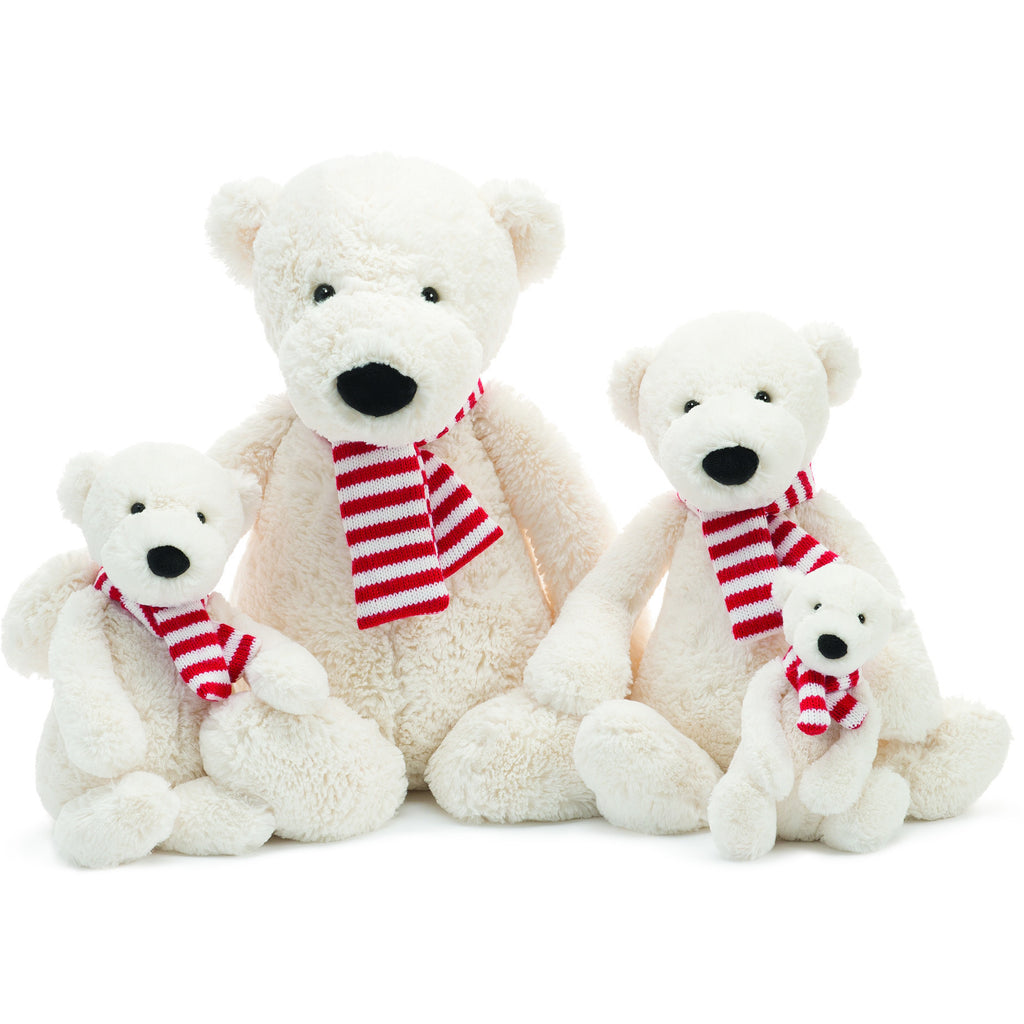JellyCat Pax Polar Bear Medium - Lil Tulips