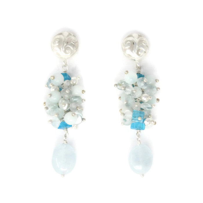 Cluster Bliss Earrings