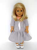 Handmade Easter Dress for American Doll