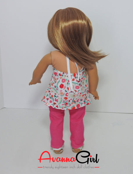 AG Doll Skinny Jeans and Halter Top