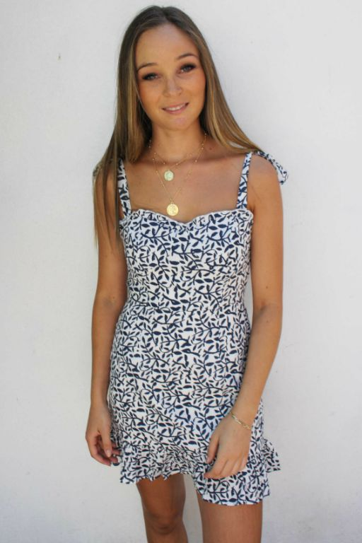 LUVALOT - BAHAMAS DRESS NAVY 34902