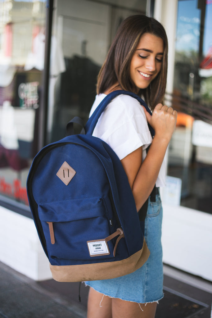 PROJECT URBAN - COLONIAL BACKPACK NAVY 31504