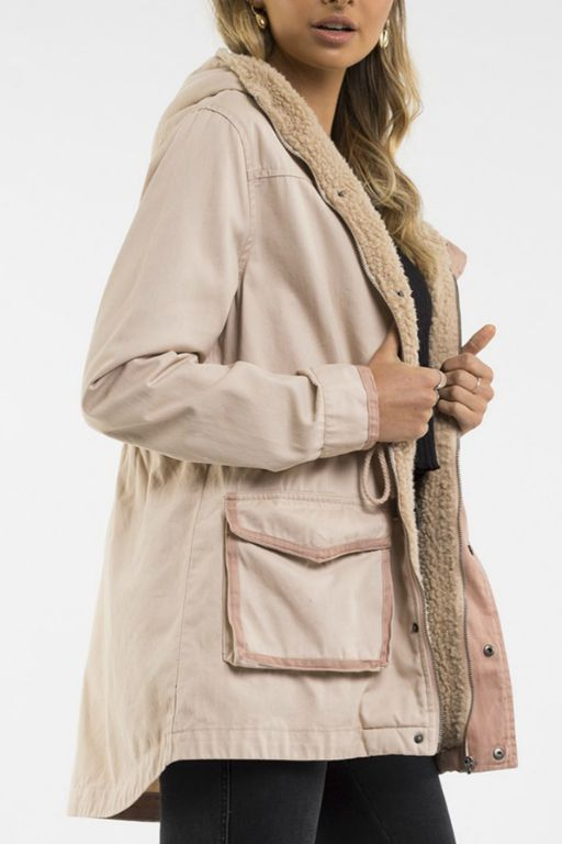 ALL ABOUT EVE - FUNDAMENTAL UTILITY JACKET 34916