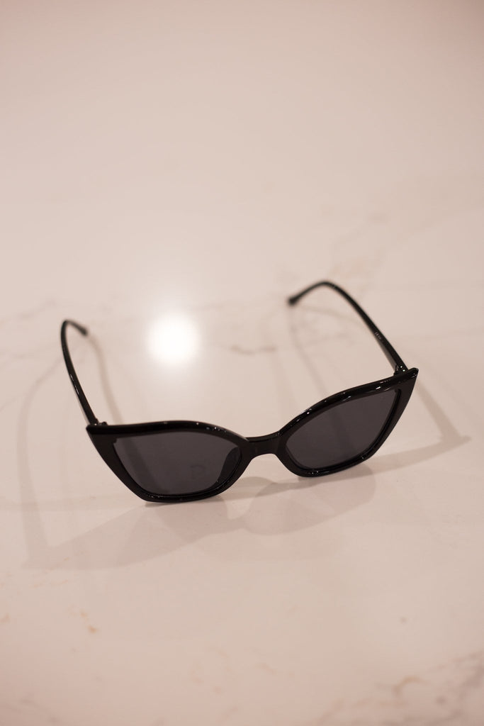 ASHA - VEGAS SUNGLASSES BLACK 34313