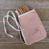 pocket purse: dusty rose/rabbit
