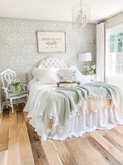 Linen Coverlet or Bedspread