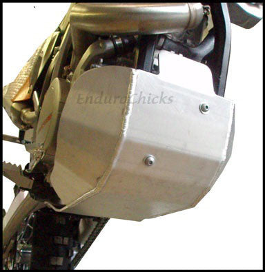 EnduroChicks - Shop for Ricochet Skid Plate, Part #466 - Mounting Pic 2 - KTM XC-F 450/505 (2009-2011)& SX-F 450/505 (2009-2010), Part #466
