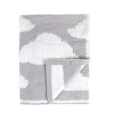 Ultra-Soft Chenille Knit Baby Blanket