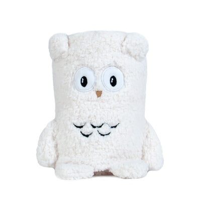 Plush Sherpa Animal Pal Rolled Baby Blanket